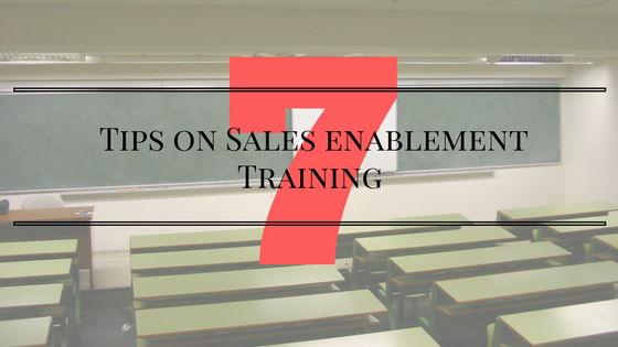 sales enablement training
