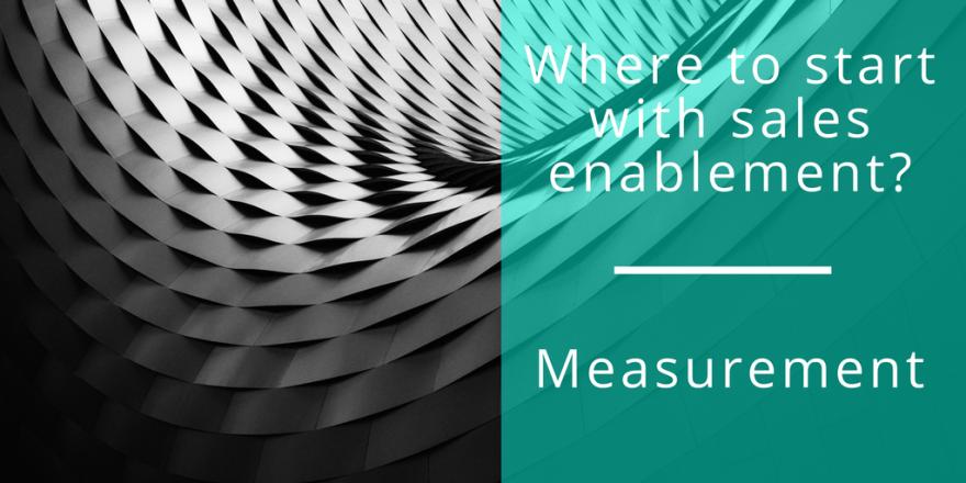sales enablement measurement
