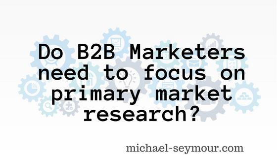 B2B Market Research